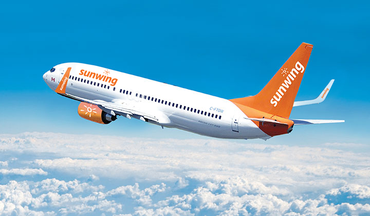 Sunwing Expands Services From Thunder Bay Adds Direct