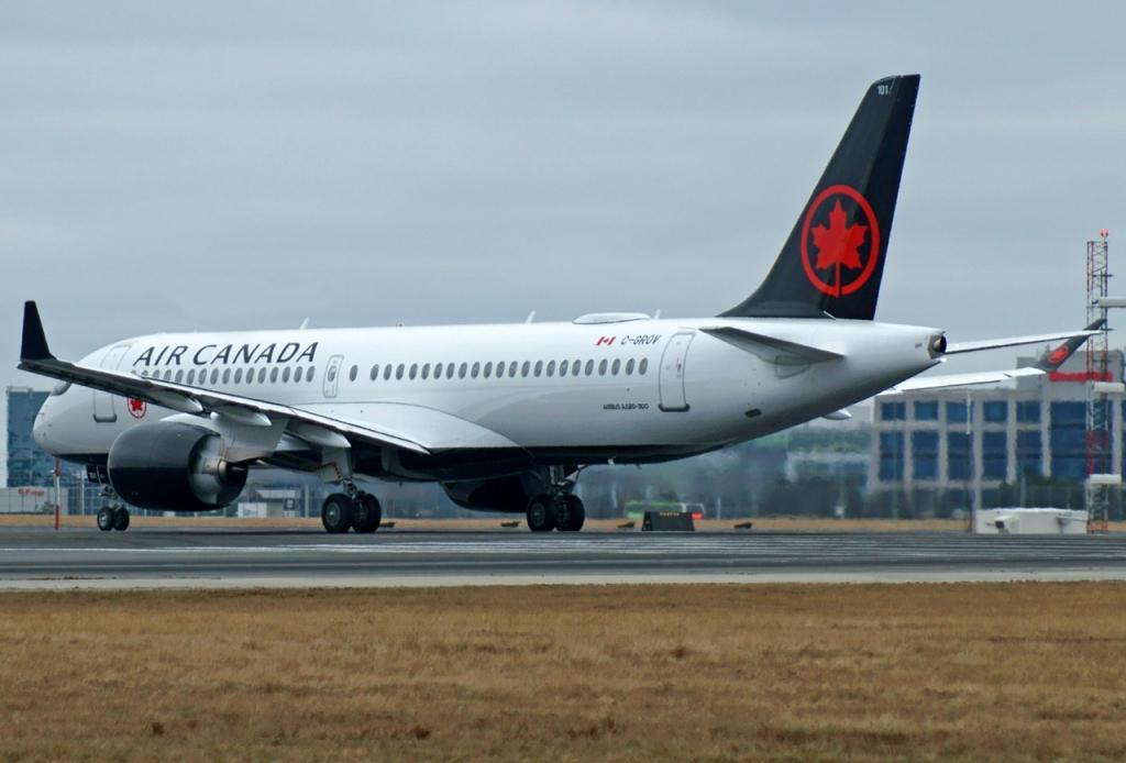 Air Canada A220-300 C-GROV